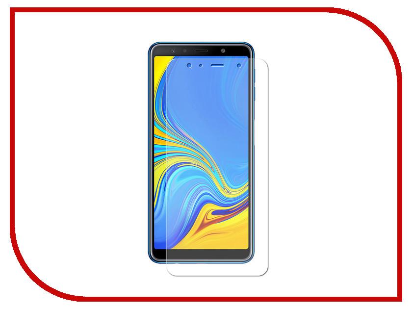 Аксессуар Гибридное защитное стекло для Samsung A7 2018 Onext 41913 аксессуар гибридное защитное стекло для honor 10 onext 41764