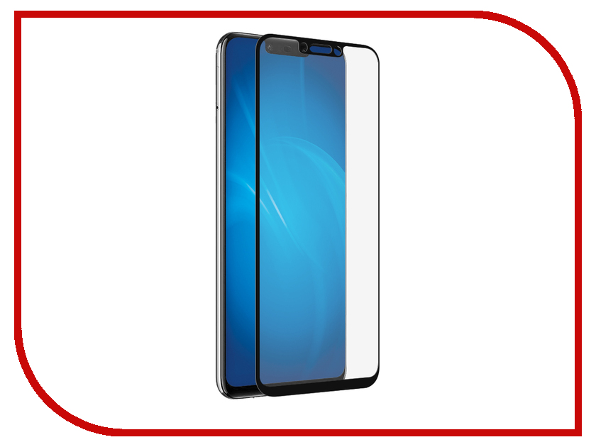 Аксессуар Защитное стекло для Huawei P Smart 2018 Onext Ultra Black 41667 аксессуар чехол для huawei p smart 2018 onext black 70678