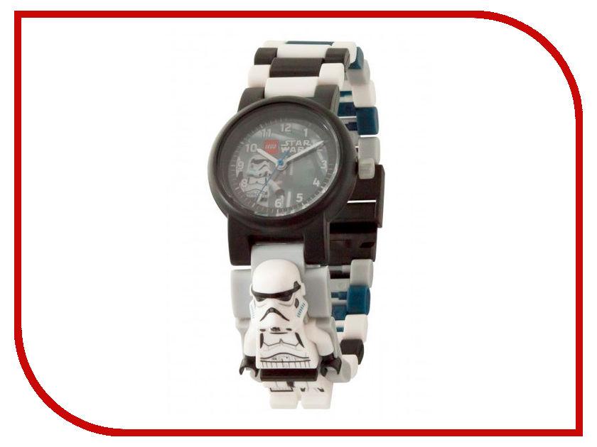 Часы бинарные Lego Star Wars Stormtrooper 8021025 часы наручные lego часы наручные аналоговые lego star wars с минифигурой darth vader на ремешке