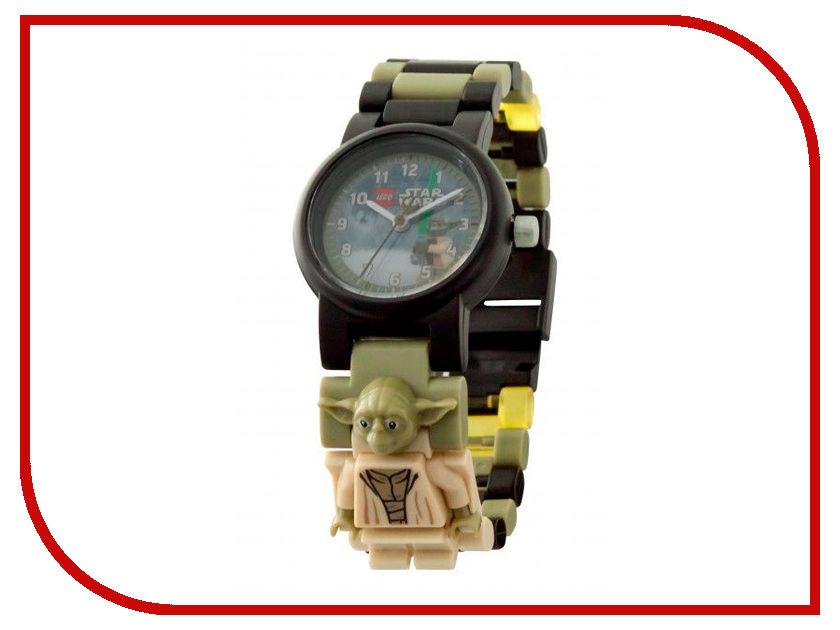 Часы бинарные Lego Star Wars Yoda 8021032 часы наручные lego часы наручные аналоговые lego star wars с минифигурой darth vader на ремешке