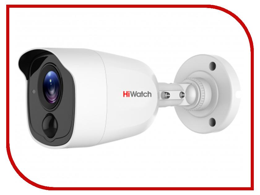 Аналоговая камера HiWatch DS-T210 2.8mm аналоговая камера hiwatch ds t106 2 8 12mm