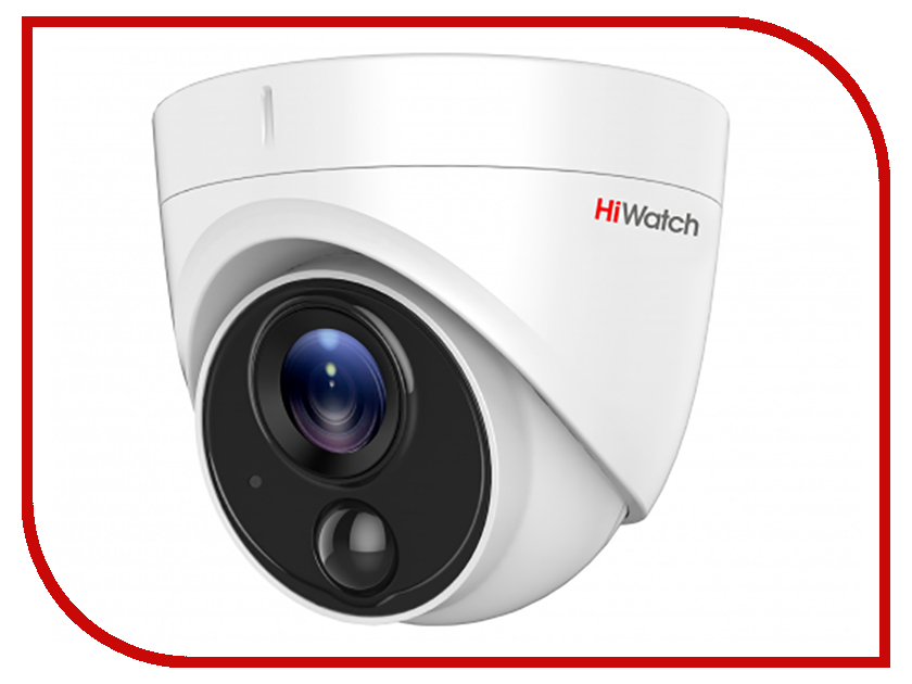 Аналоговая камера HiWatch DS-T213 2.8mm аналоговая камера hiwatch ds t101 2 8mm