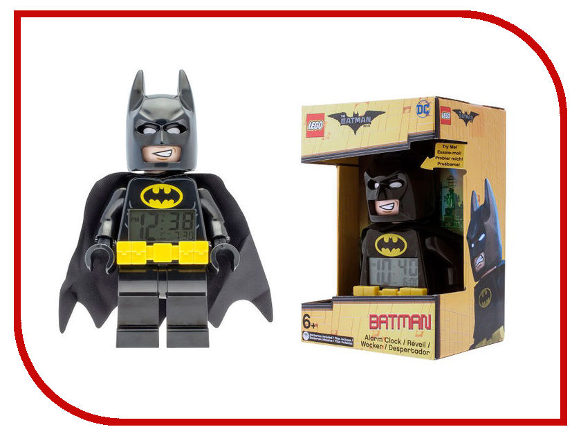 Часы Lego Batman Movie Batman 9009327 фонарь lego batman movie kimono batman lgl he20k