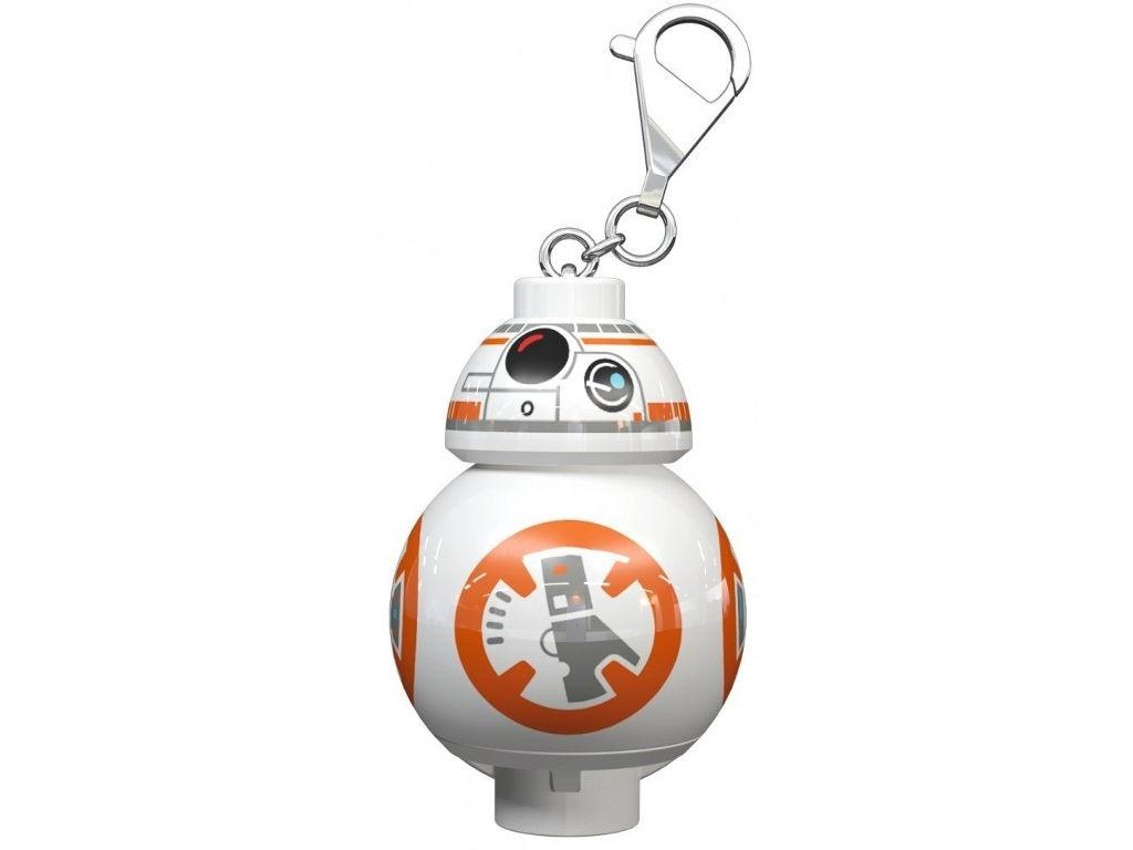 Брелок Брелок-фонарик Lego Star Wars Дроид BB-8 LGL-KE101 фонарик ночник lego cragger