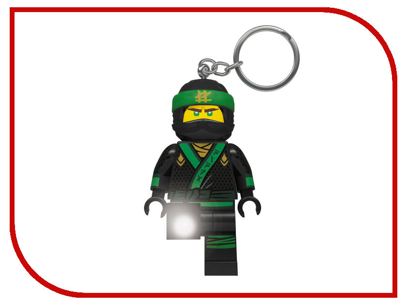 Брелок Lego Ninjago Movie Lloyd LGL-KE108L
