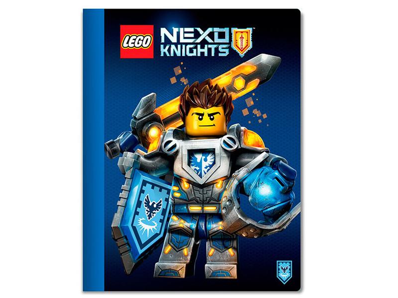 цена на Тетрадь Lego Nexo Knights A4 100 листов 51556