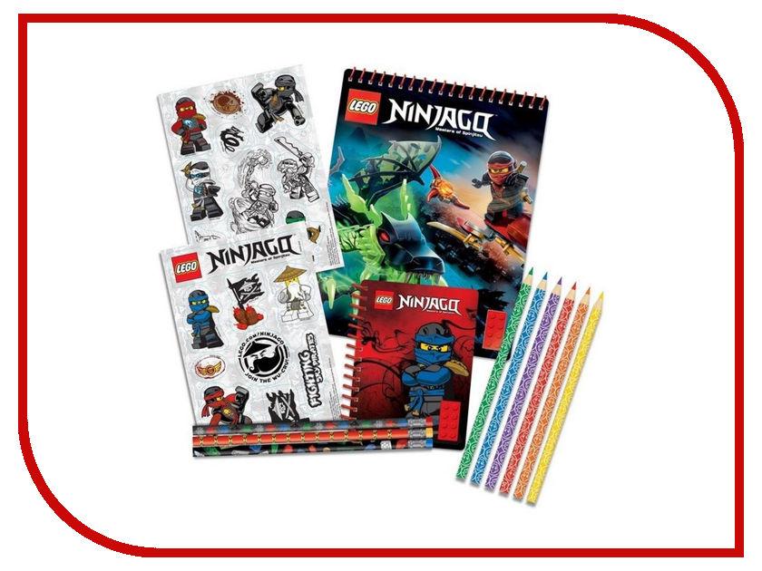 Набор канцелярских принадлежностей Lego Ninjago 51631 широкий guangbo 12 пакета 24мм 50y очень прозрачная лента канцелярских лент небольших канцелярских принадлежности fx 64
