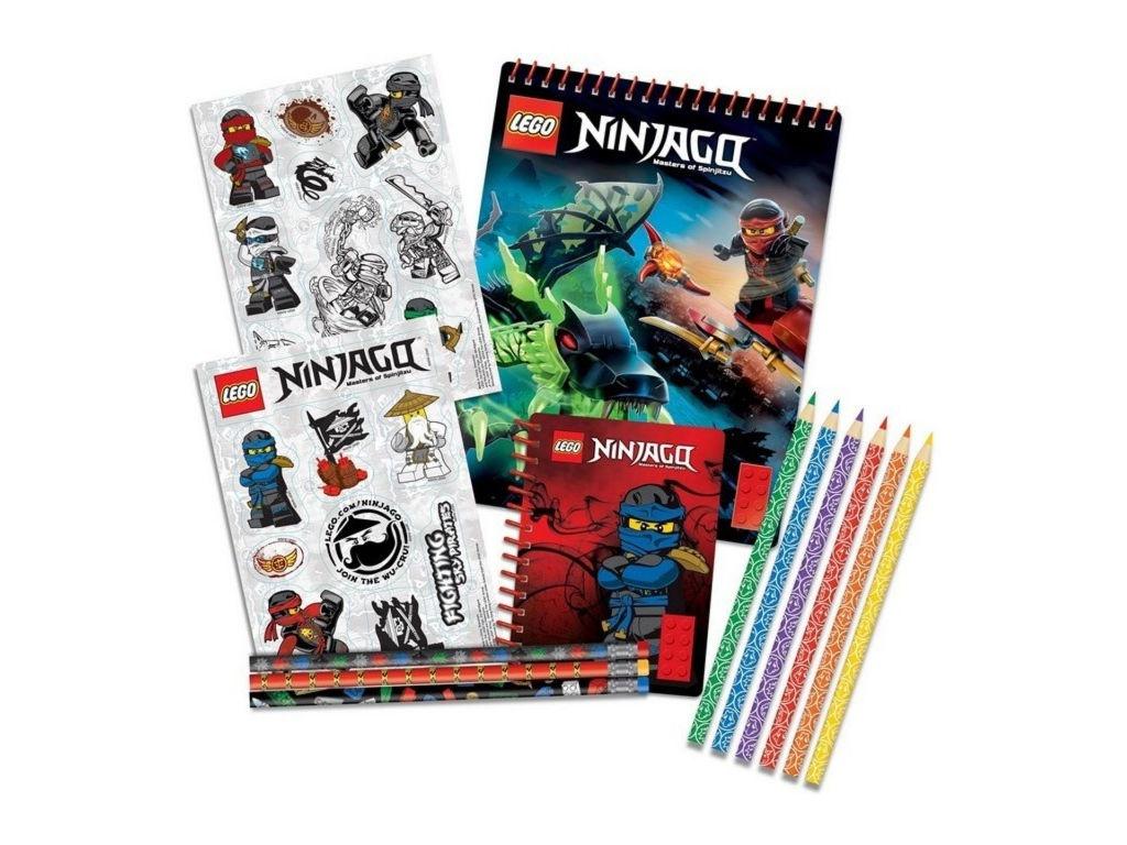 Набор канцелярских принадлежностей Lego Ninjago 51631 канцелярские наборы lego набор канцелярских принадлежностей 13 шт в комплекте lego friends подружки
