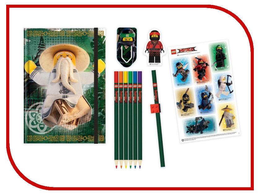 Набор канцелярских принадлежностей Lego Ninjago Movie 51890 конструктор lego ninjago 70589 горный внедорожник