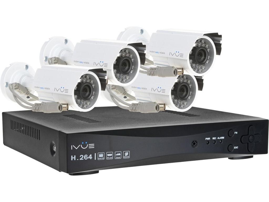 Комплект видеонаблюдения iVUE AHD IVUE-1080P AHC-B4
