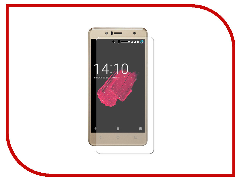 Аксессуар Защитно стекло для Prestigio Muze B5 LuxCase 0.33mm 82436 new touch screen digitizer for 10 1 prestigio multipad muze 5001 3g pmt5001 touch panel tablet glass sensor free shipping