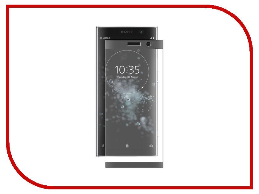 Аксессуар Защитно стекло для Sony Xperia XA2 Plus LuxCase 3D Black Frame 77997