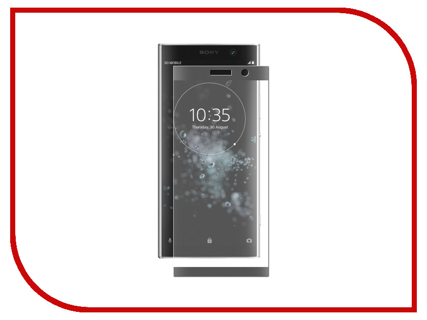 Аксессуар Защитно стекло для Sony Xperia XA2 Plus LuxCase 3D Black Frame 77997 цена и фото