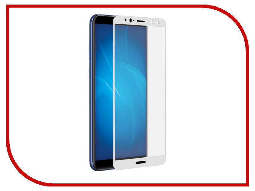 Аксессуар Защитно стекло для Huawei Mate 10 Lite LuxCase 2.5D Full Screen White Frame 77850 vernee apollo lite lcd display touch screen digitizer frame assembly 100