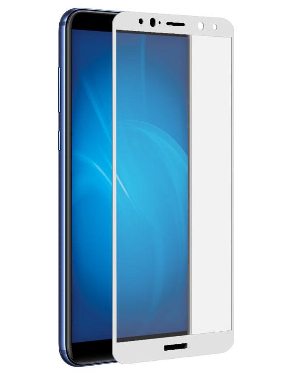 Аксессуар Защитно стекло LuxCase для Huawei Mate 10 Lite 2.5D Full Screen White Frame 77850