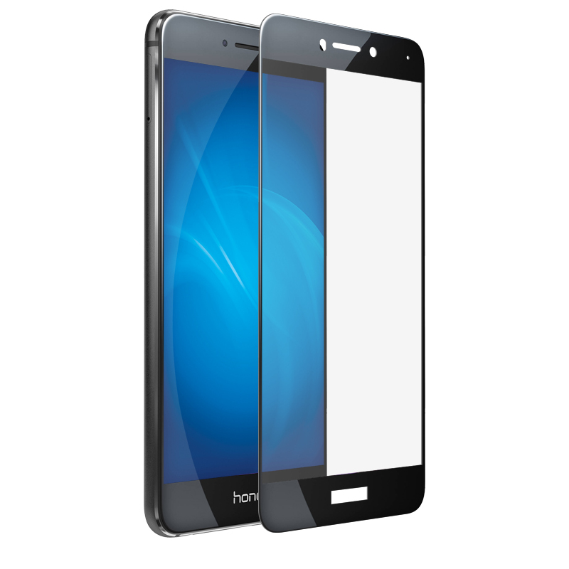 Аксессуар Защитно стекло LuxCase для Honor 8 Lite 3D Black Frame 77955