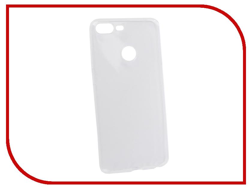 Аксессуар Чехол для Honor 9 Lite Pero Silicone Transparent PRSLC-H9LTR аксессуар чехол для nokia 6 2018 pero silicone transparent
