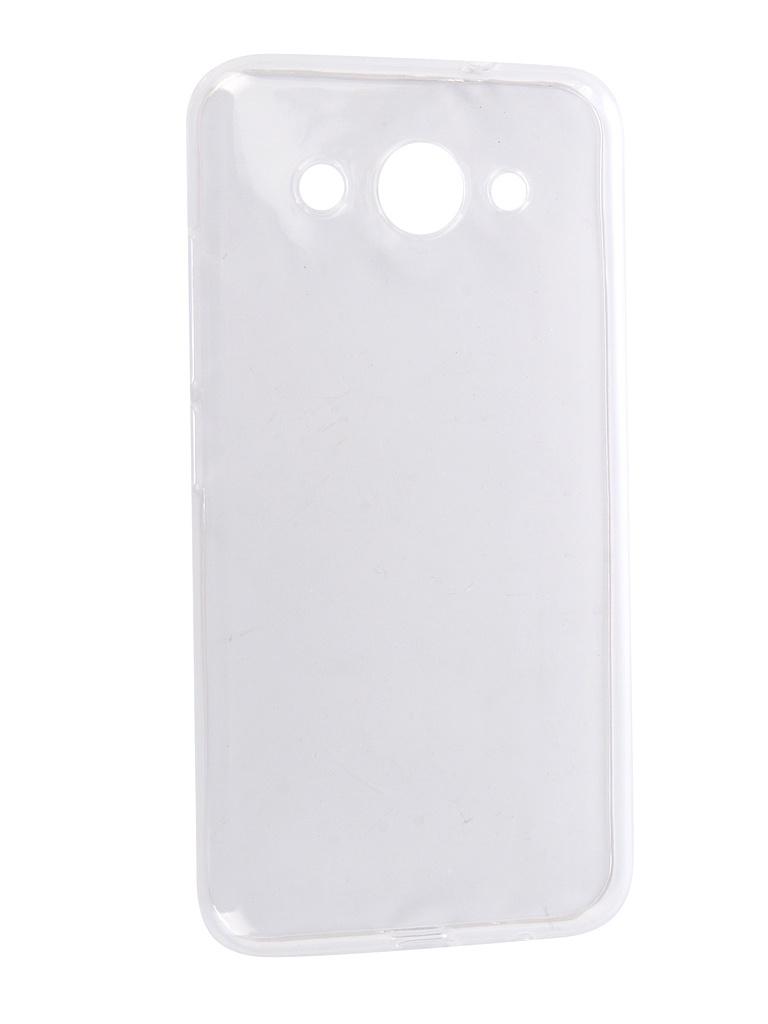Аксессуар Чехол Pero для Huawei Y3 2017 Silicone Transparent PRSLC-Y317TR