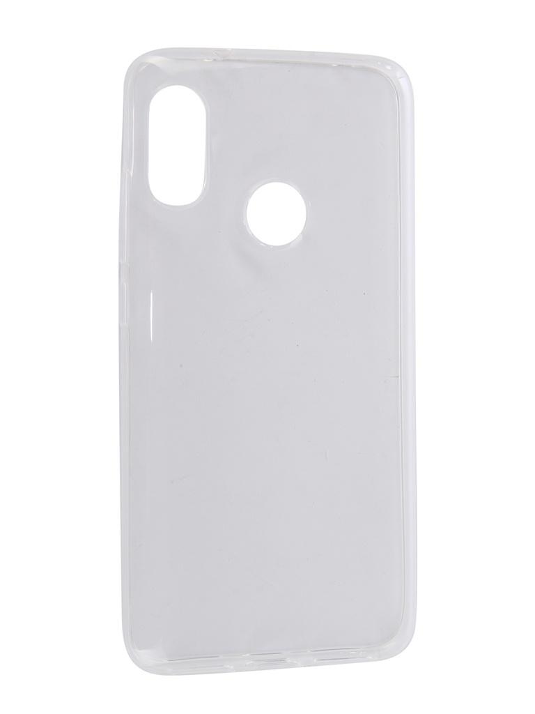 Аксессуар Чехол Pero для Xiaomi Mi A2 Lite Silicone Transparent PRSLC-MA2LTR