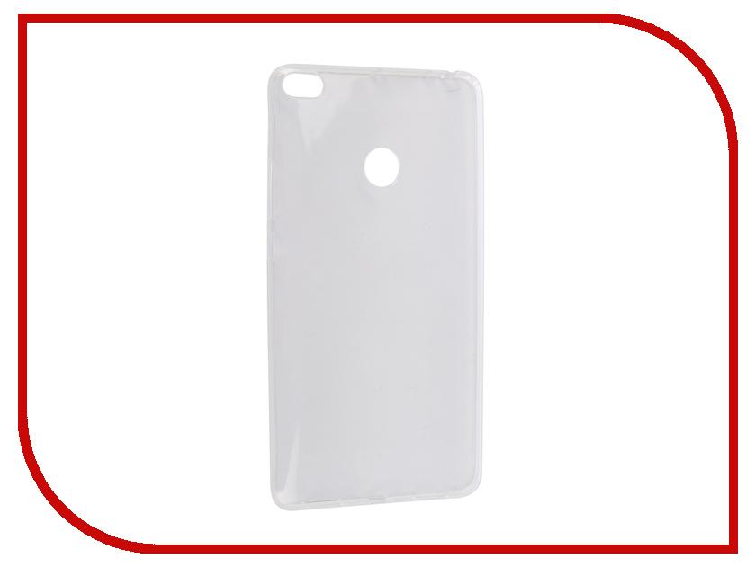 Аксессуар Чехол для Xiaomi Mi Max2 Pero Silicone Transparent PRSLC-MMAX21TR аксессуар чехол для xiaomi mi max 2 pero soft touch black prstc mmax21b