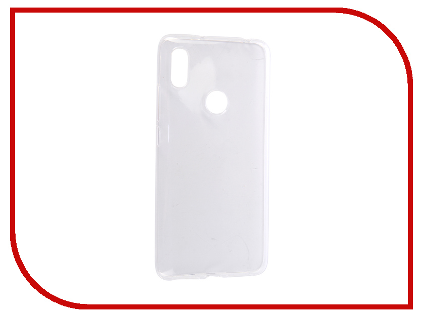 Аксессуар Чехол для Xiaomi Redmi S2 Pero Silicone Transparent PRSLC-RS2TR аксессуар чехол для samsung galaxy j4 2018 pero silicone transparent prslc j418tr