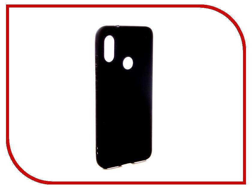 Аксессуар Чехол для Xiaomi Mi A2 Lite Pero Silicone Black PRSTC-MA2LB аксессуар чехол для xiaomi mi max 2 pero soft touch black prstc mmax21b