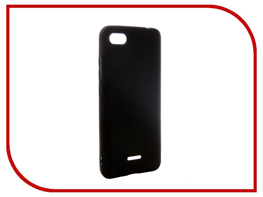 Аксессуар Чехол для Xiaomi Redmi 6A Pero Silicone Black PRSTC-R6AB цена