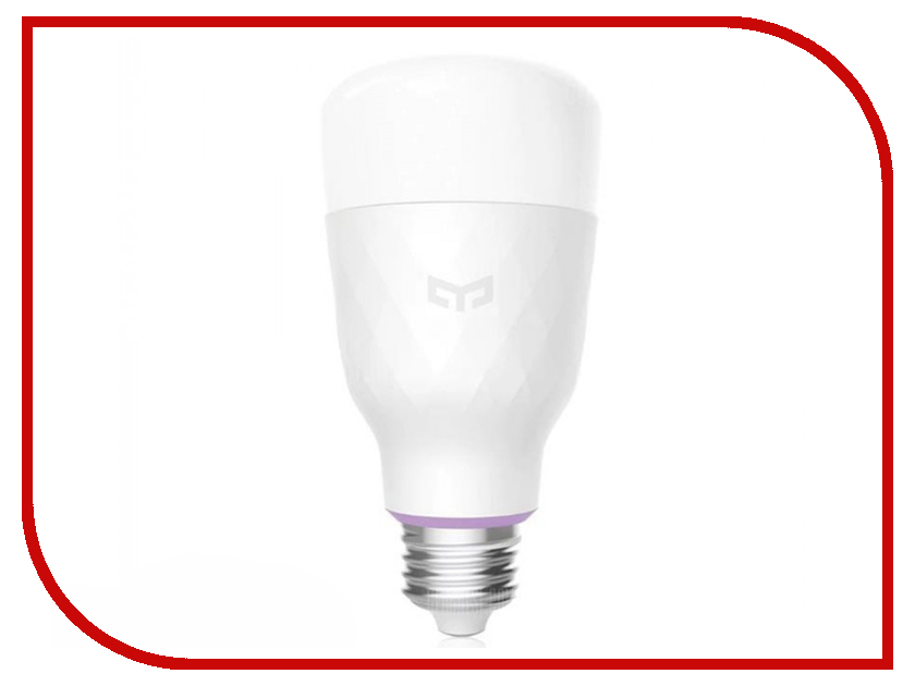 Лампочка Xiaomi Yeelight Smart Led Bulb Color White YLDP06YL светильник xiaomi yeelight led ceiling lamp 650mm white ylxd02yl