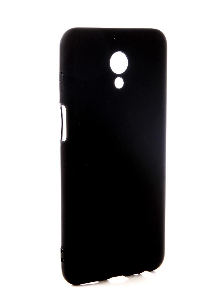 Аксессуар Чехол Pero для Meizu M6s Soft Touch Black PRSTC-MM6SB чехол для meizu m6s g case slim premium накладка черный