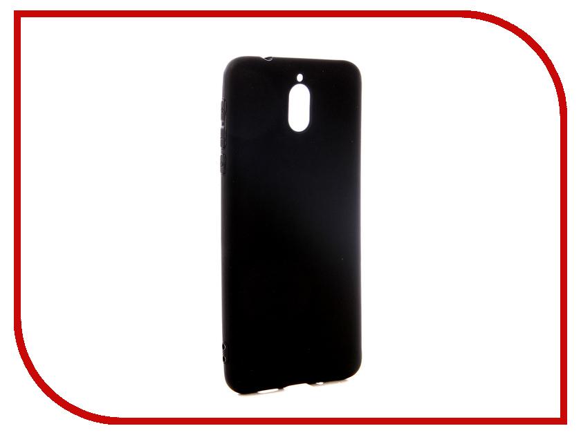 Аксессуар Чехол для Nokia 3.1 Pero Black PRSTC-N31B аксессуар чехол для nokia 7 plus pero soft touch black prstc n7pb
