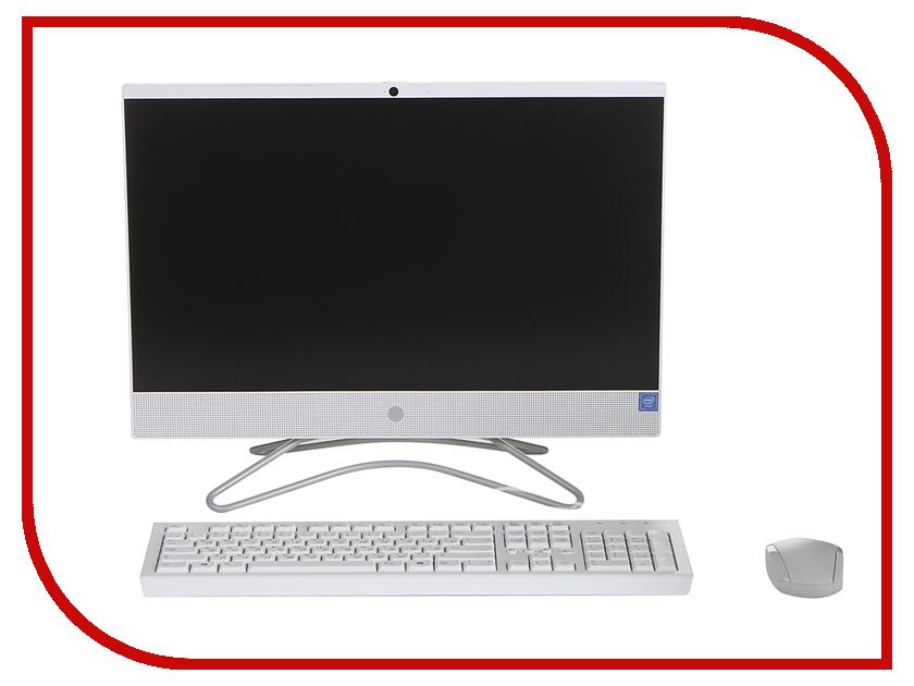 Моноблок HP 22-c0012ur 4GV53EA Snow White (Intel Celeron J4005 2.0 GHz/4096Mb/500Gb/No ODD/Intel HD Graphics/Wi-Fi/21.5/1920x1080/Windows 10 64-bit)