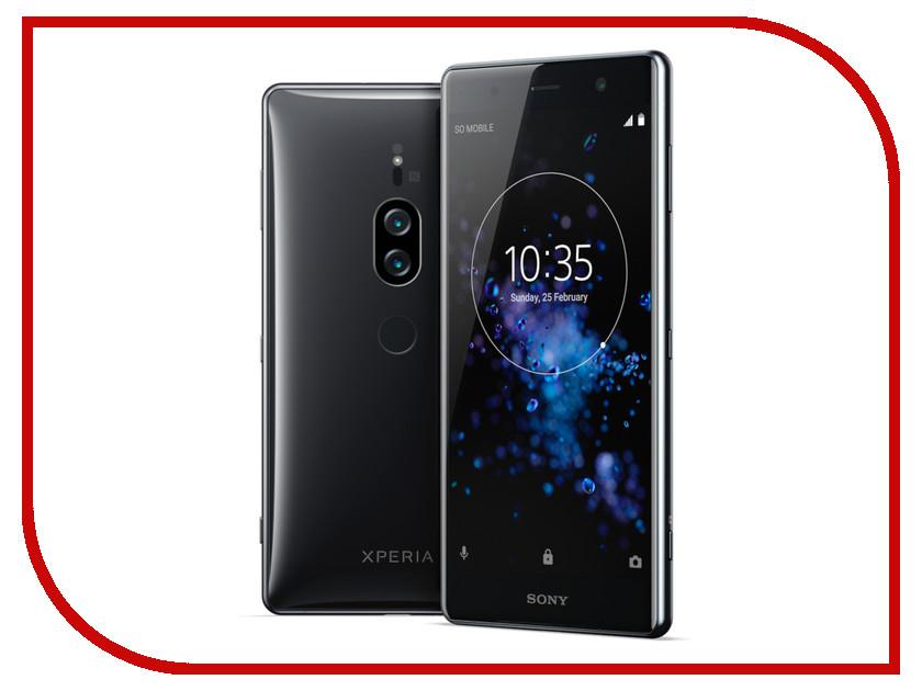 Сотовый телефон Sony Xperia XZ2 Premium Black wierss розовый для sony xz2