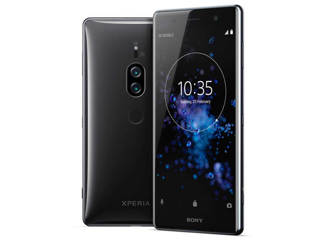 Сотовый телефон Sony Xperia XZ2 Premium Black сотовый телефон sony xperia xz2 compact black