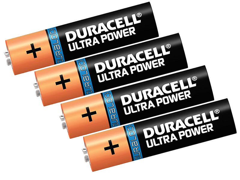 Батарейка AAA - Duracell LR03 4BL Ultra Power (4 штуки)