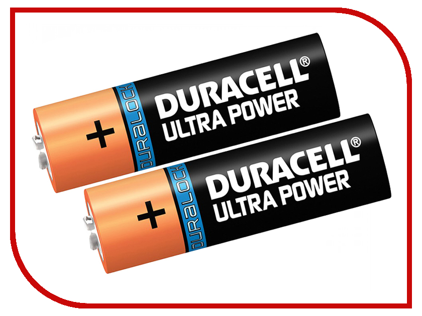 Батарейка AA - Duracell LR6 2BL Ultra Power (2 штуки)