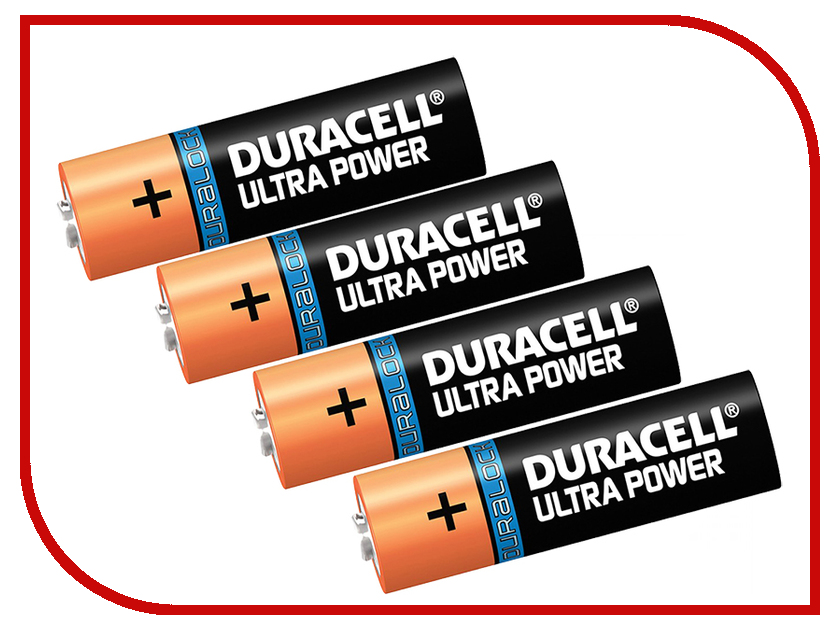 Батарейка AA - Duracell LR6 4BL Ultra Power (4 штуки)