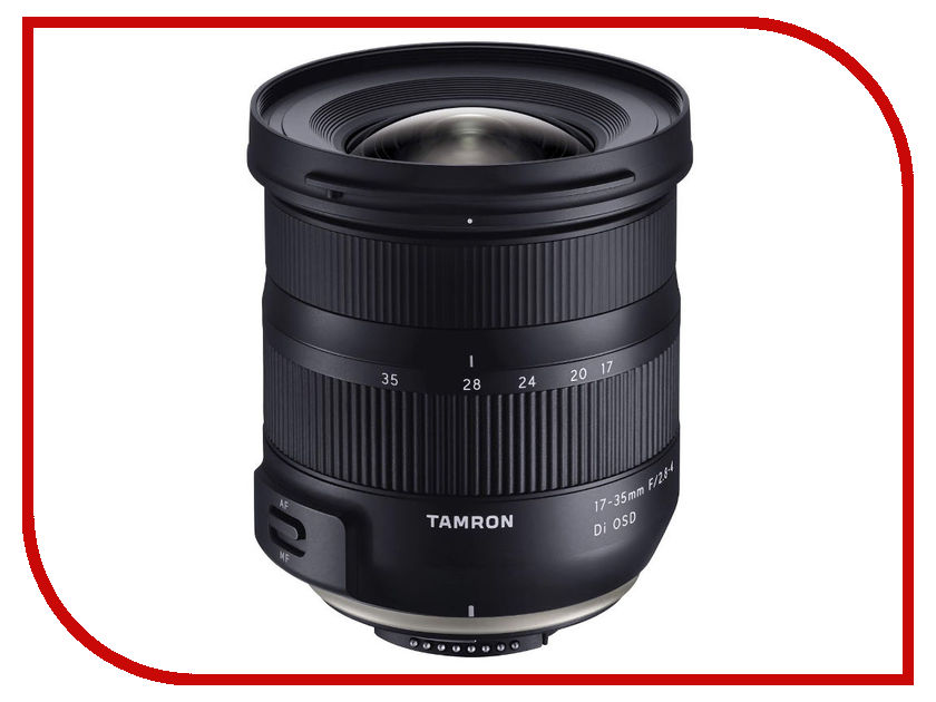 Объектив Tamron Canon AF 17-35mm f/2.8-4 Di OSD 0 35mm m