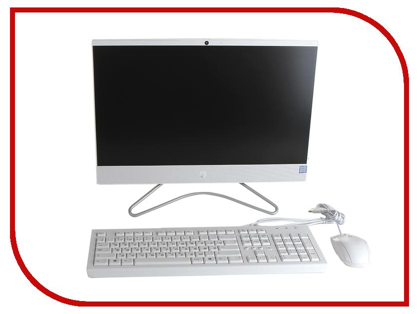Моноблок HP 22-c0020ur 4HB50EA Snow White (Intel Core i3-8130U 2.2 GHz/4096Mb/1000Gb/No ODD/Intel HD Graphics/Wi-Fi/21.5/1920x1080/Windows 10 64-bit) моноблок asus zen zn220icuk ra033t grey 90pt01n1 m03100 intel core i3 7100u 2 4 ghz 4096mb 1000gb intel hd graphics wi fi cam 22 1920x1080 windows 10 64 bit