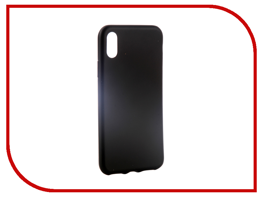 Аксессуар Чехол для APPLE iPhone XS Max Red Line Ultimate Black УТ000016121 rpha max evo metal black xs