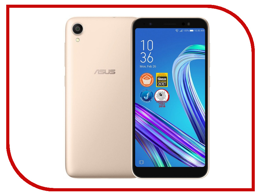 Сотовый телефон ASUS G552KL 16Gb Gold телефон