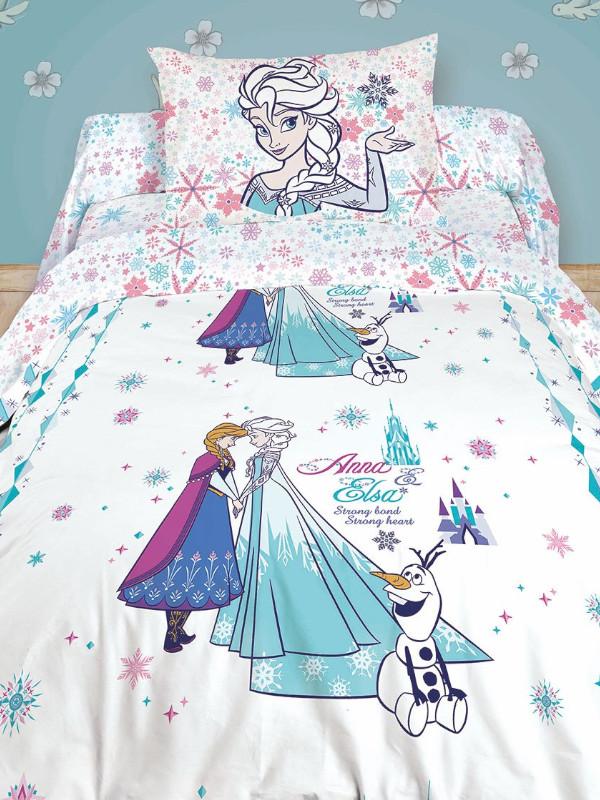 Постельное белье Disney Anna&Elsa Комплект 1.5 спальный 716923