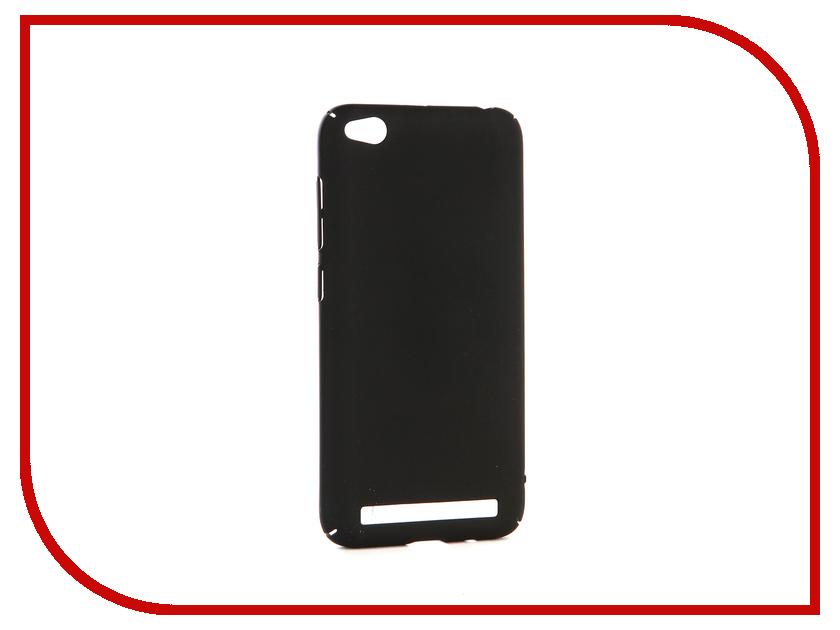 Аксессуар Чехол-накладка для Xiaomi Redmi 5A Gecko Hard Plastic Black PL-K-XIAR5A-BL чехол на сиденье autoprofi gob 1105 bl romb m