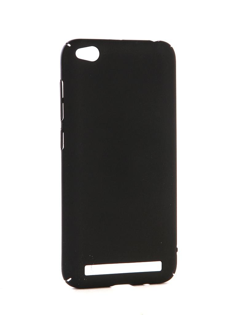 Аксессуар Чехол-накладка Gecko для Xiaomi Redmi 5A Hard Plastic Black PL-K-XIAR5A-BL prime book чехол для xiaomi redmi 5a black