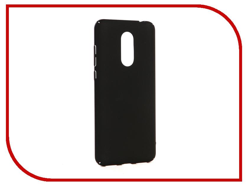 Аксессуар Чехол-накладка для Xiaomi Redmi 5 Plus Gecko Hard Plastic Black PL-K-XIAR5+-BL чехол на сиденье autoprofi gob 1105 bl romb m