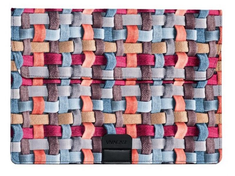 Аксессуар Чехол-папка 12-13.3-inch Vivacase Ropes для MacBook Air VCN-FRS15-mrg цена