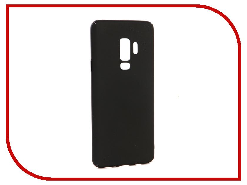 Аксессуар Чехол-накладка для Samsung Galaxy S9 Plus Gecko Hard Plastic Black PL-K-SAMS9+-BL чехол на сиденье autoprofi gob 1105 bl romb m