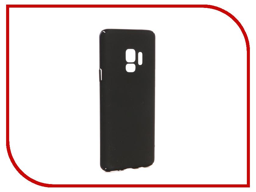 Аксессуар Чехол-накладка для Samsung Galaxy S9 Gecko Hard Plastic Black PL-K-SAMS9-BL аксессуар чехол для samsung galaxy s9 sd845 svekla black tr svsamsd845 bl