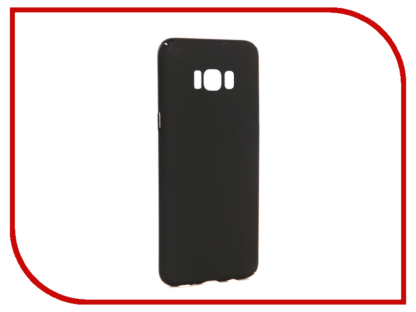 Аксессуар Чехол-накладка для Samsung Galaxy S8 Plus Gecko Hard Plastic Black PL-K-SAMS8+-BL чехол на сиденье autoprofi gob 1105 bl romb m