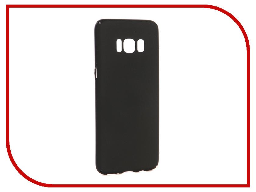 Аксессуар Чехол-накладка для Samsung Galaxy S8 Gecko Hard Plastic Black PL-K-SAMS8-BL чехол на сиденье autoprofi gob 1105 bl romb m