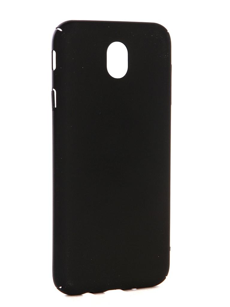Аксессуар Чехол-накладка Gecko для Samsung Galaxy J730 Hard Plastic Black PL-K-SAMJ730-BL аксессуар чехол для samsung galaxy s7 g930f gecko black gg f sgs7 bl